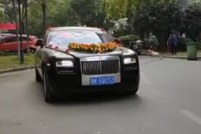 孝感八一车队豪华车婚庆视频展示