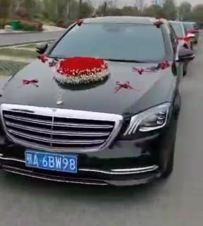 2020年3月28日孝感奔驰加奥迪婚庆车队